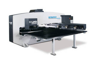 LVD Strippit Showcases Its Latest in Laser Cutting, Bending, and Punching Solutions at Fabtech Canada 2014