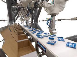 Top Loading Carton/Case Loader utilizes Fanuc delta robots.