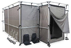 RF Shielding Tent attains -98.9 dB in 800-2,400 MHz band.