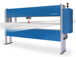 Laser Sensor measures thickness of coils in slitting lines.