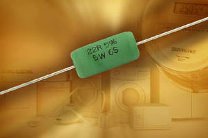 Axial Wirewound Safety Resistor withstands surges up to 6 kV.