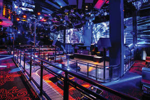 Hollaender Manufacturing Designs Custom Rail for Mandalay Bay Casino Nightclub