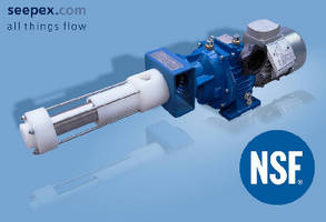seepex Metering Pumps Receive NSF 61 Certification