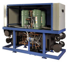 Commercial Chiller comes in water-cooled or reversible options.