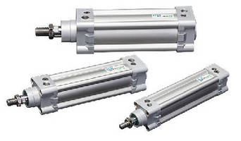 Pneumatic Cylinders feature ISO mounting.