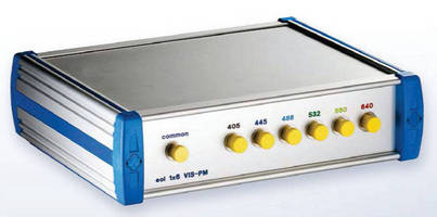 Singlemode Switch supports VIS and PM applications.