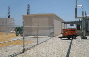 Fast-Track Electric Substation Building Facilitates Immediate Power Needs