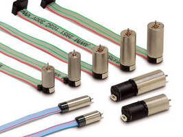 In-Line DC Gear Motors have integral incremental encoder.