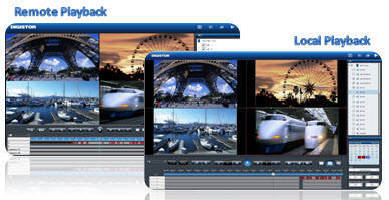 Network Video Recorder offers firmware for optimized operation.