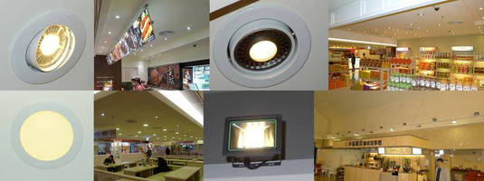 Major Freeway Service Area in Central Taiwan (Gukeng) Refit with GlacialLight LED Luminaires
