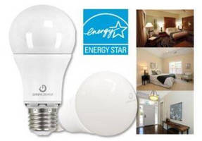 GREEN CREATIVE A19 6W and 9.5W LED Lamps are ENERGY STAR Qualified in 3 CCT