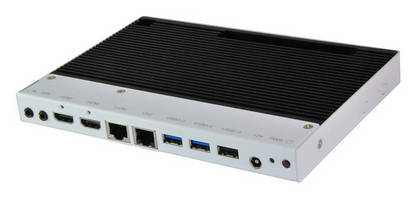 Fanless Digital Signage Player features dual HDMI outputs.