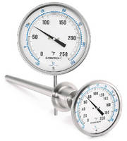 Bimetal Thermometers eliminate use of mercury.