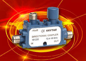 Directional Coupler offers 30 dB nominal coupling.