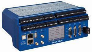 Data Acquisition/Control System is used for vibration monitoring.