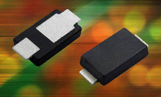 Schottky Rectifiers feature low 0.95 mm profile.