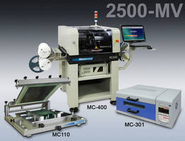 Print-Place-Reflow Package performs prescision, high-mix assembly.
