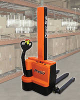 Pallet Stackers offer max lift heights from 62-150 in.