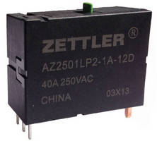 Latching Relay serves entire North American lighting market.