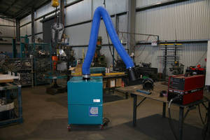 Air Flow Systems Engineering promotes weld fume/heat control.