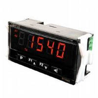 Process Meter offers dual alarm relays with flash function.