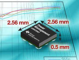 DC/DC Power Regulator (12 V, 750 mA) comes in nano packaging.
