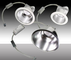 LED Recessed Downlight Retrofits illuminate commercial areas.
