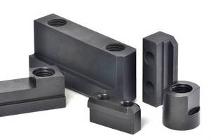 Jaw Nuts and Keys are manufactured of heat-treated steel.
