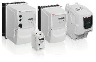 Micro Drives offer IP20 or IP66 rating.