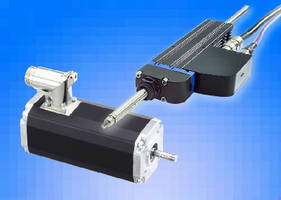 Tubular Linear Motor offers integrated controller option.