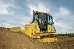 Crawler Dozers offer fully automatic blade control.