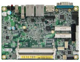 Disk-Size (3.5 in.) SBC leverages Intel Atom CPU SoC.