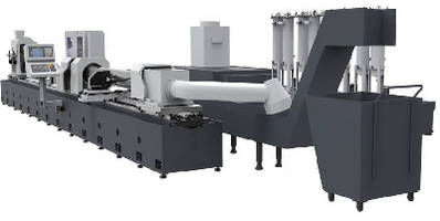 Skiving and Burnishing Machine creates hydraulic cylinders.