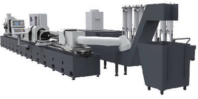 Skiving and Burnishing Machine creates hydraulic cylinders.