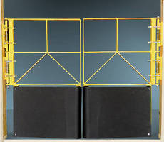 Pallet Safety Gates feature self-closing design.