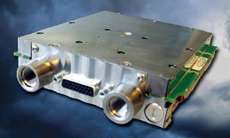 Air Data Computer Module features vibrating cylinder.