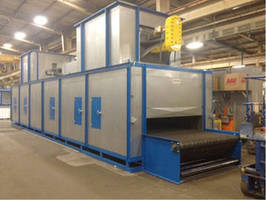INFRATROL Manufacturing Corporation Shipped Oven for Drying Insulating Sleeves to Foundry Industry Customer