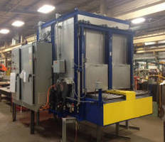 INFRATROL Manufacturing Corporation Ships an Indexing Oven for Lost Wax Casting to a Foundry Industry Customer