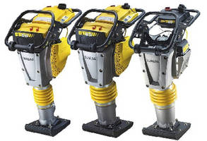 Vibratory Tampers offer max travel speed of 66 fpm.