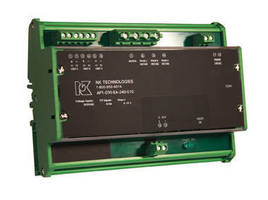 Power Transducers measure 3-phase wattage consumption.