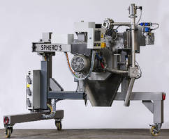 Underwater Pelletizing System starts with press of button.