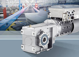 Siemens Presents Simogear Geared Motors with Integrated Sinamics G110M Inverter