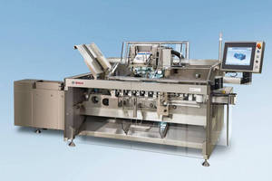 Modular and Flexible: Bosch Presents New CUT 1405 Cartoning Machine