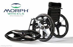Bel-Art Products' Manufacturing Team Designs Award-Winning Foldable Wheelchair Wheels