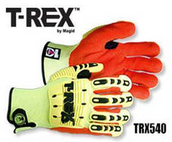 Impact Gloves offer ANSI Level 4 cut resistance.