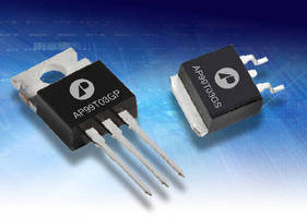Power MOSFETs  feature very low on-resistance.