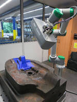 Portable Robotic Laser Scanner provides 3D analysis.