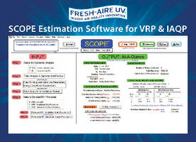 Fresh-Aire UV® SCOPE(TM) Estimation Software Calculates Outdoor Air and ROI for ANSI/ASHRAE 62.1's VRP & IAQP
