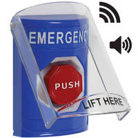 Emergency Button with Shield