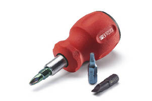 Stubby Screwdrivers reach difficult-to-access screws.